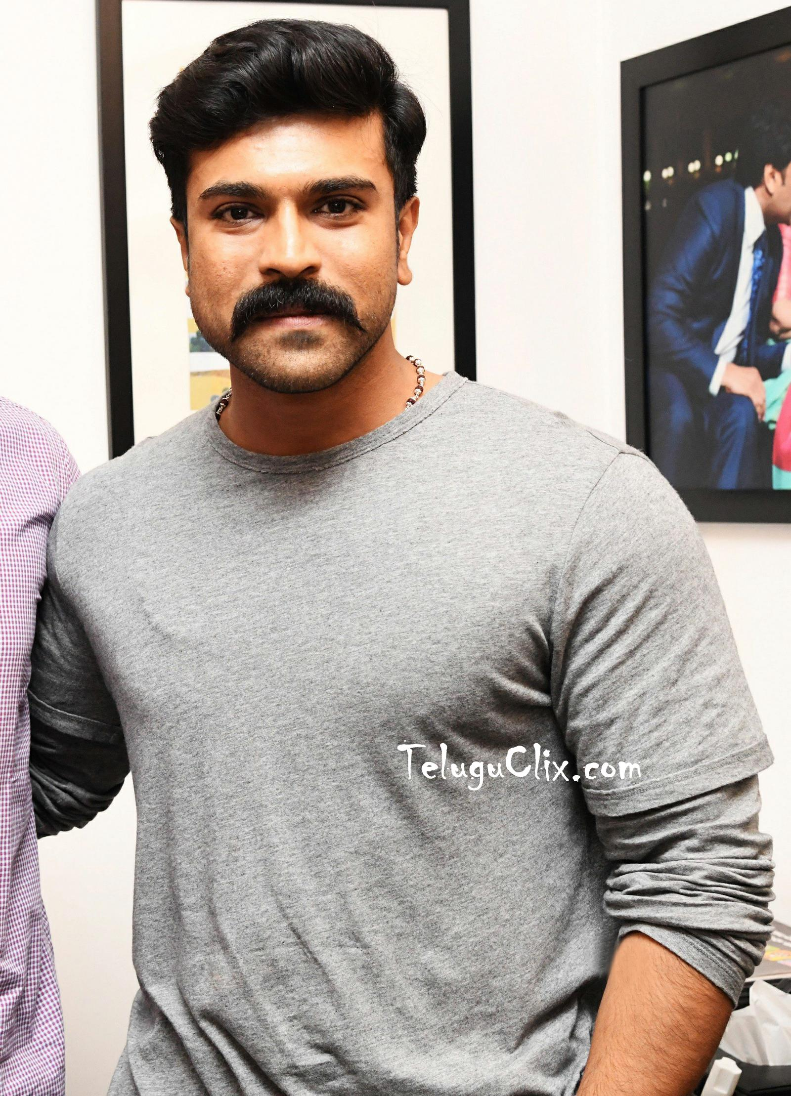 Ram Charan At His Office New Look Hd - Ram Charan Photos New , HD Wallpaper & Backgrounds
