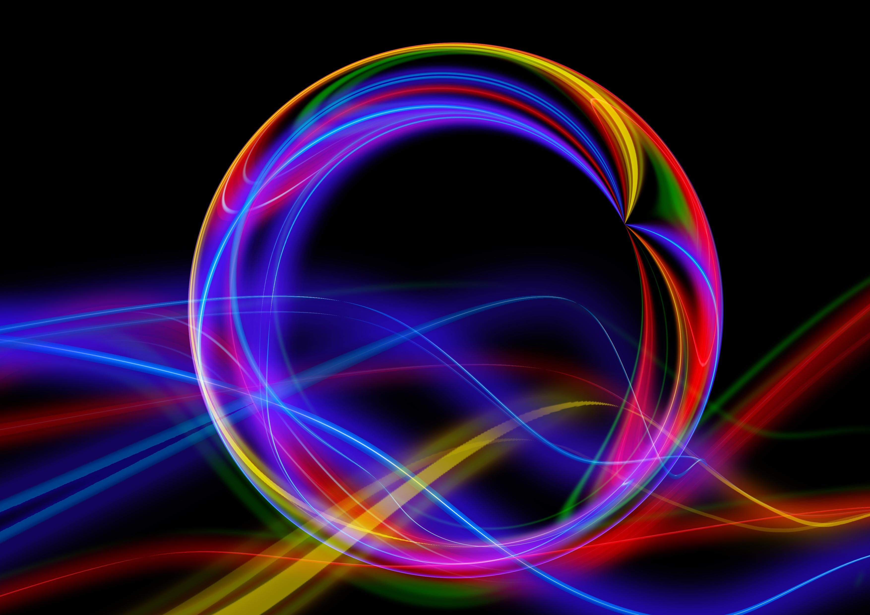 Ball Colorful Line Abstraction Sphere Background 3043537 Hd Wallpaper Backgrounds Download