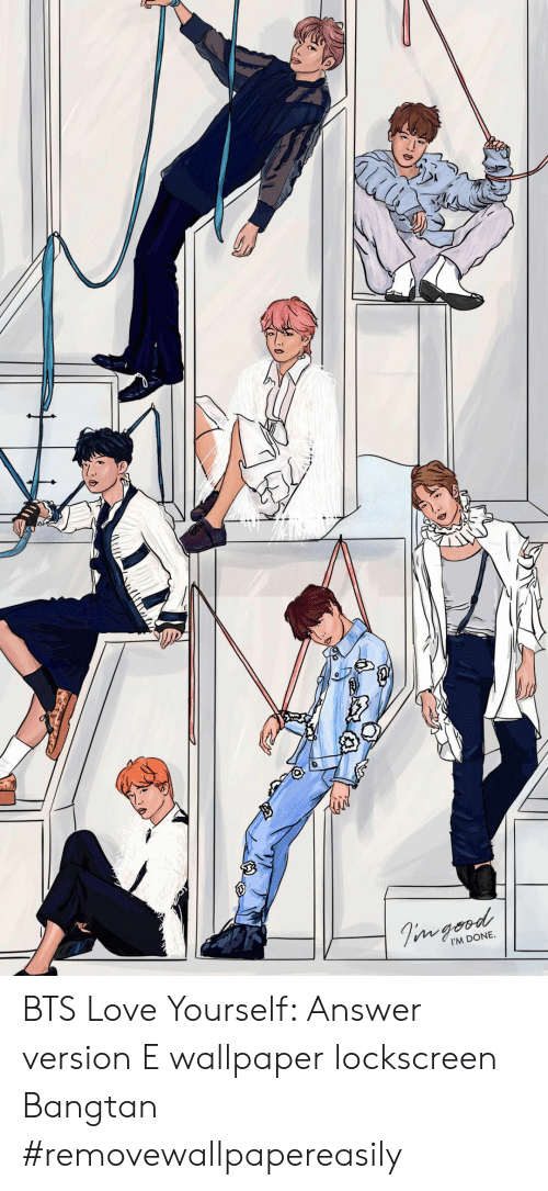 Love, Wallpaper, And Bts - Bts Love Yourself Answer , HD Wallpaper & Backgrounds