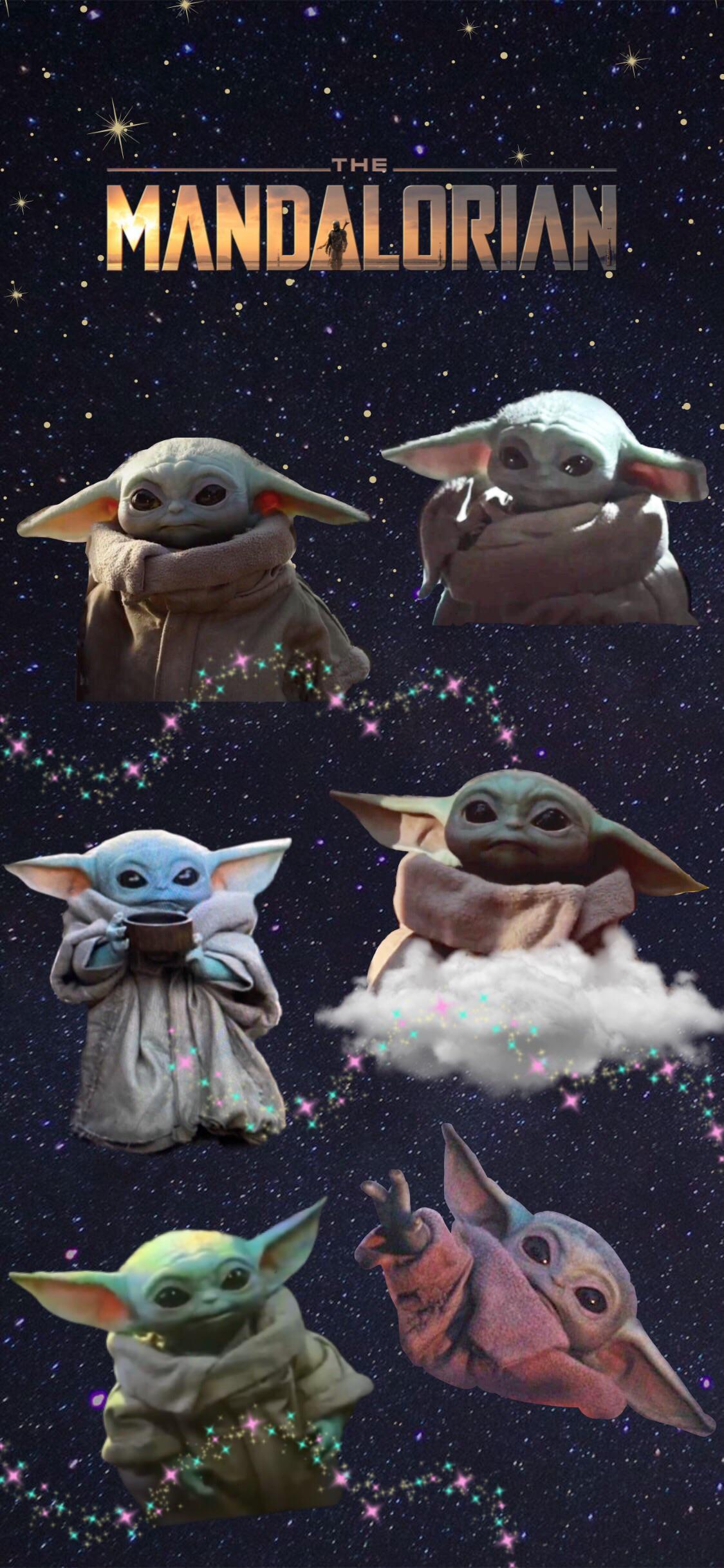 Baby Yoda Wallpaper Iphone X , HD Wallpaper & Backgrounds
