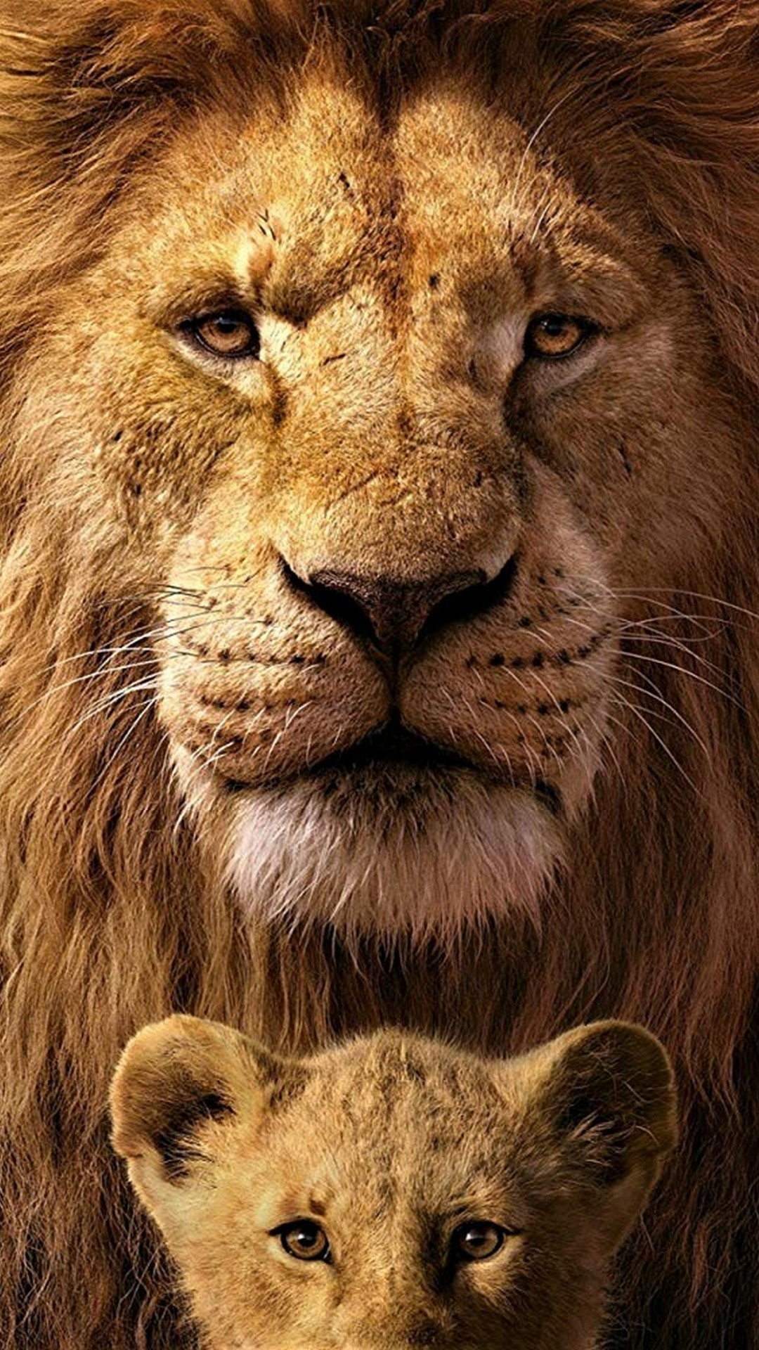 The Lion King Iphone 6 Wallpaper With High-resolution - Mufasa And Simba 2019 , HD Wallpaper & Backgrounds