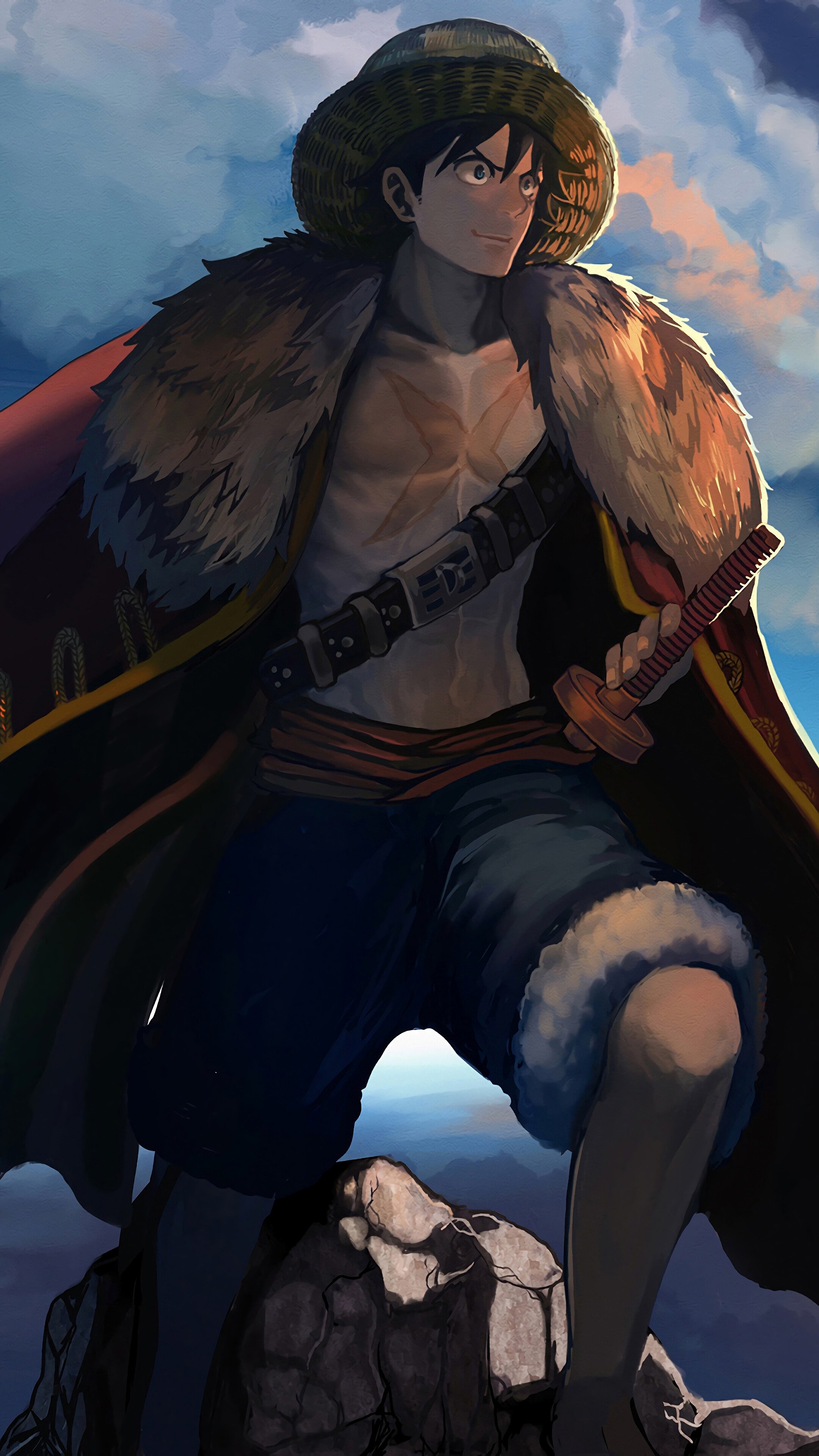 Luffy One Piece 4k Iphone 10 7 6s 6 Hd Wallpapers 3051673 Hd Wallpaper Backgrounds Download