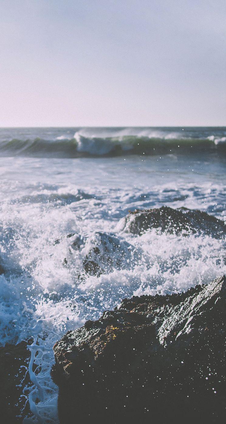 Wave, Body Of Water, Wind Wave, Sea, Water, Ocean, - Iphone Wallpaper Waves , HD Wallpaper & Backgrounds