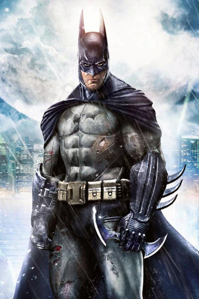 Iphone Batman Arkham Asylum , HD Wallpaper & Backgrounds