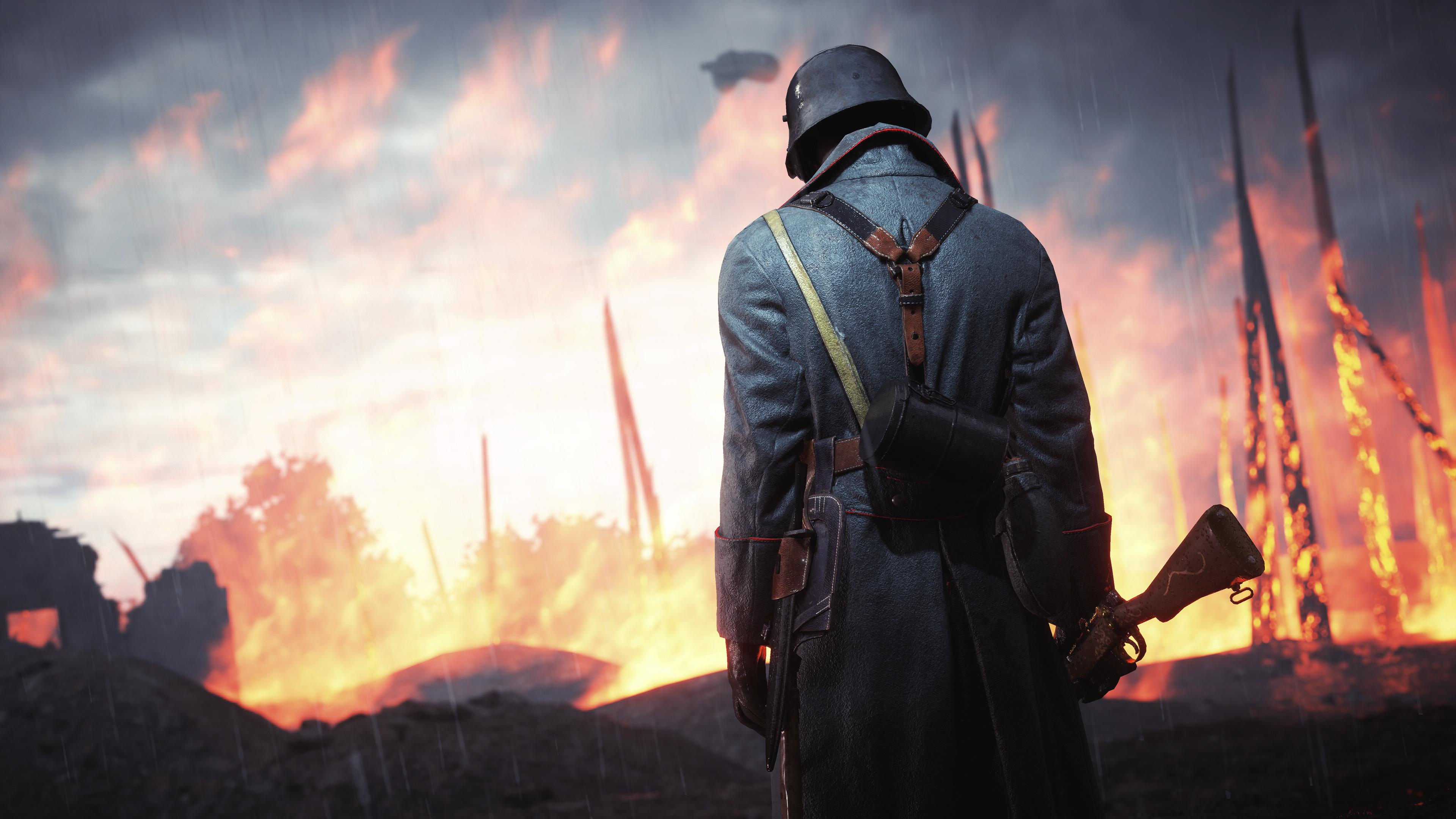 Battlefield 1 Wallpaper 4k , HD Wallpaper & Backgrounds