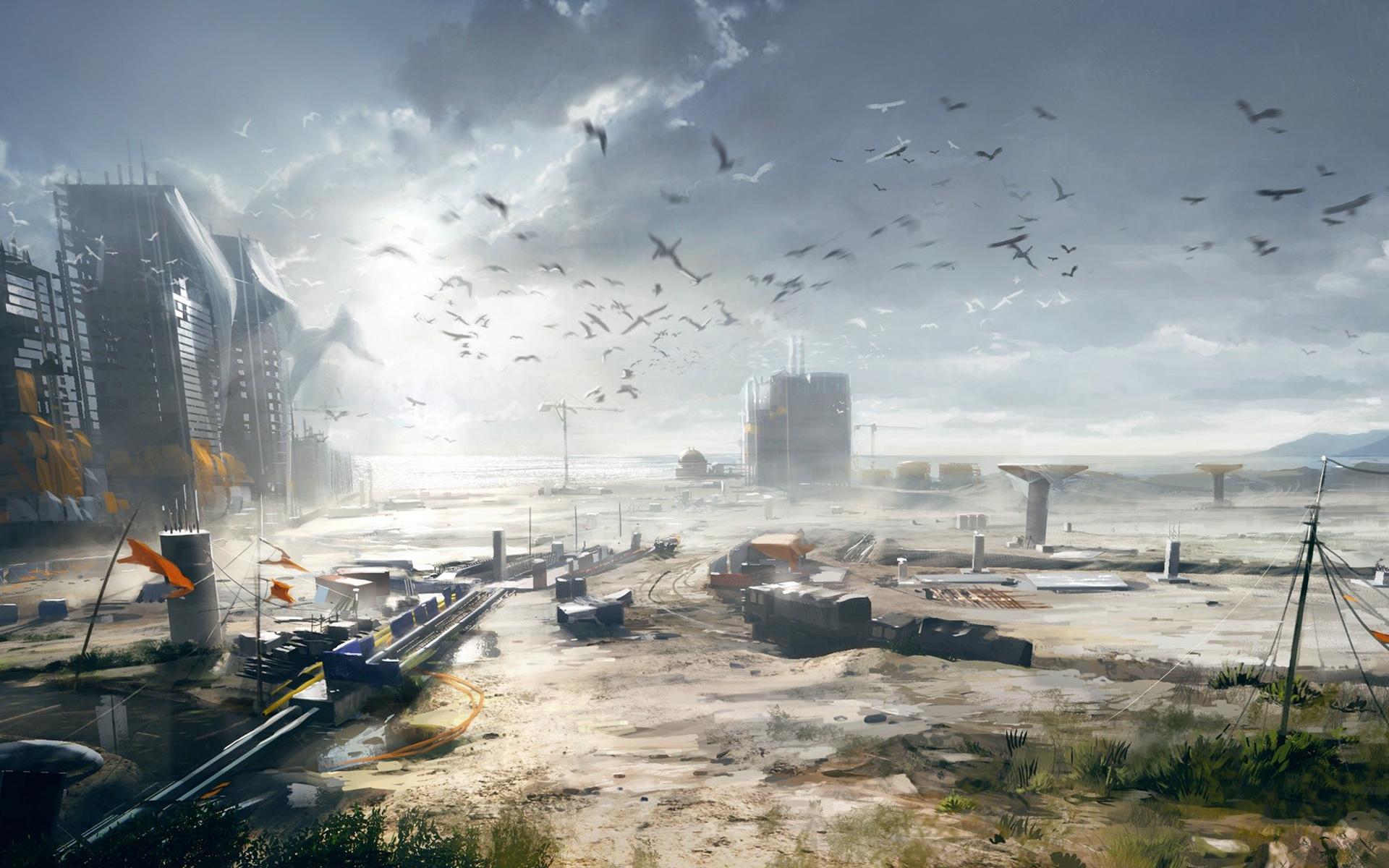 Battlefield Concept Art Wallpaper - Battlefield Concept Art 4k , HD Wallpaper & Backgrounds
