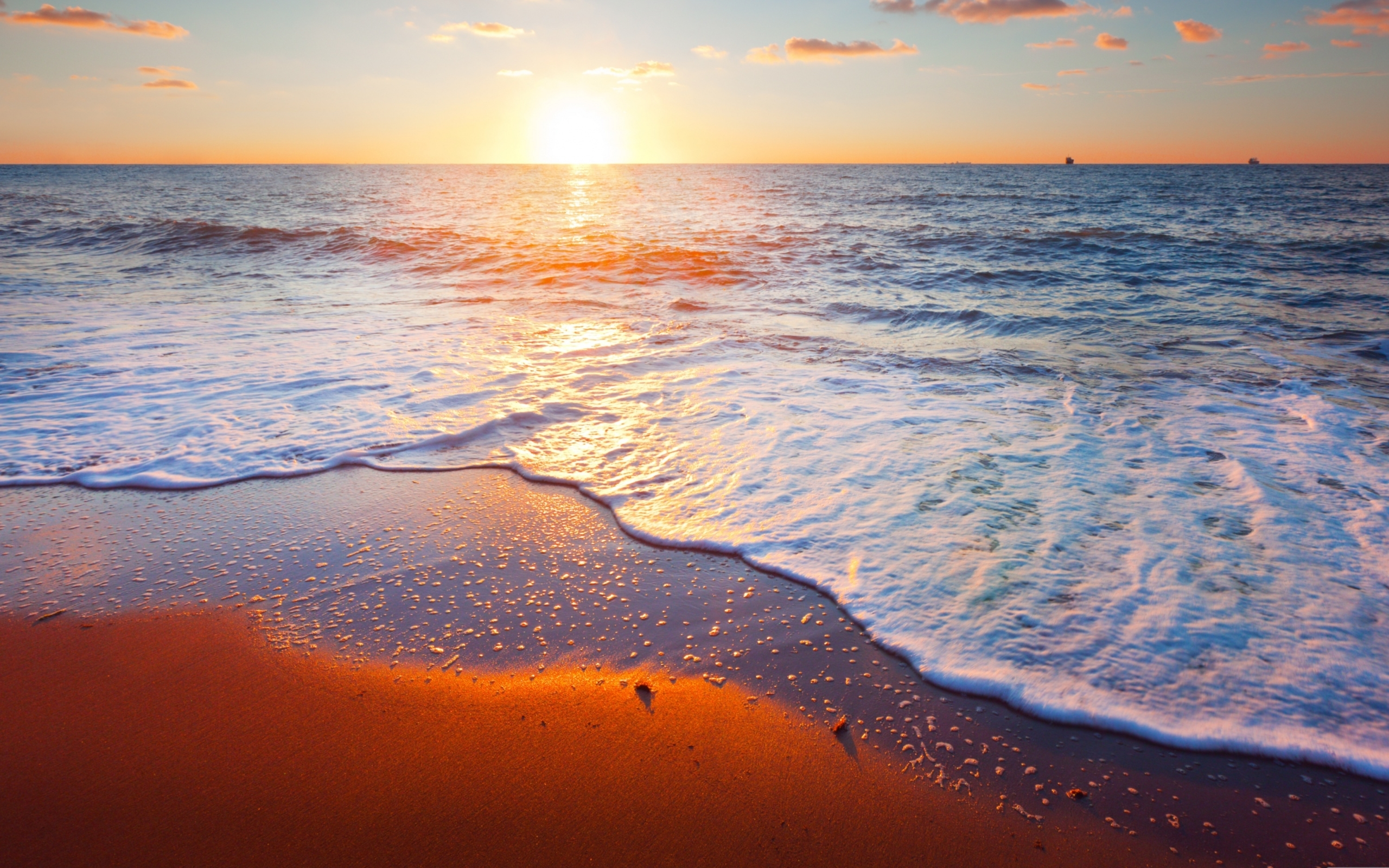 Sunset Sea Images Hd , HD Wallpaper & Backgrounds