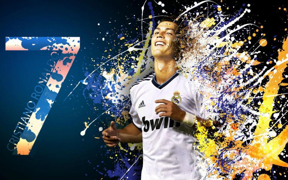 Cristiano Ronaldo Wallpaper Real Madrid Wallpaper, - Amazing Pictures Of Ronaldo , HD Wallpaper & Backgrounds