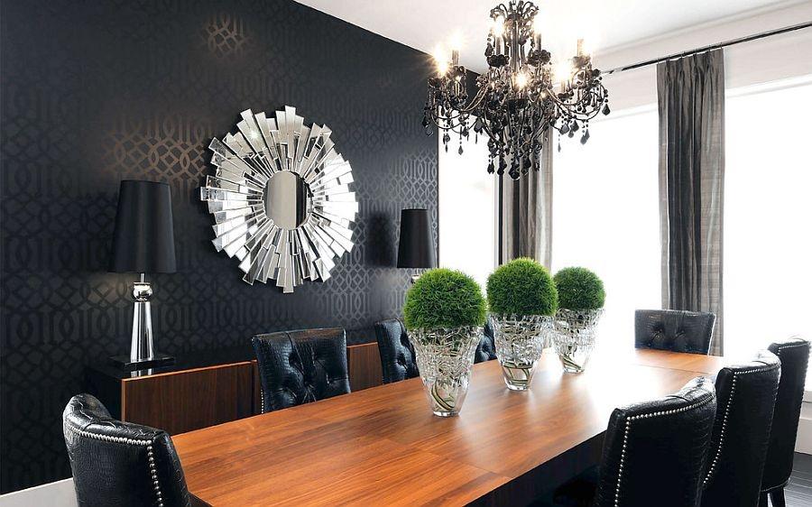 Modern Dining Room Wallpaper Ideas , HD Wallpaper & Backgrounds