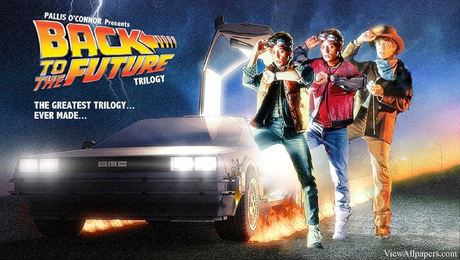 Back To The Future Wallpaper - Back To The Future , HD Wallpaper & Backgrounds
