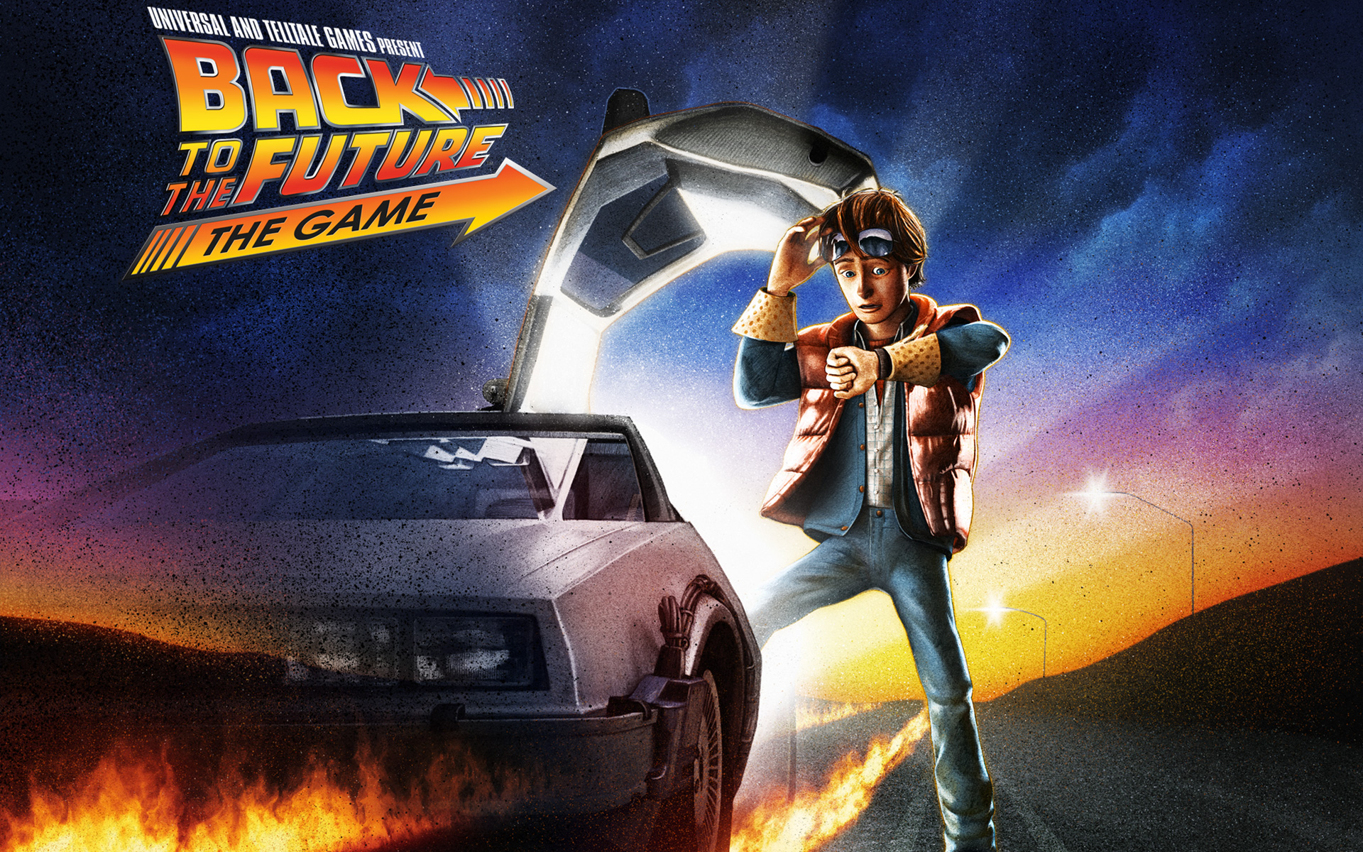 Free Back To The Future - Back To The Future The Game Ps3 , HD Wallpaper & Backgrounds