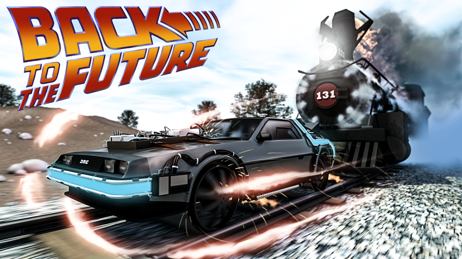 Displaying 9 Images For Back To The Future 3 Wallpaper - Back To The Future Hd Screensavers , HD Wallpaper & Backgrounds