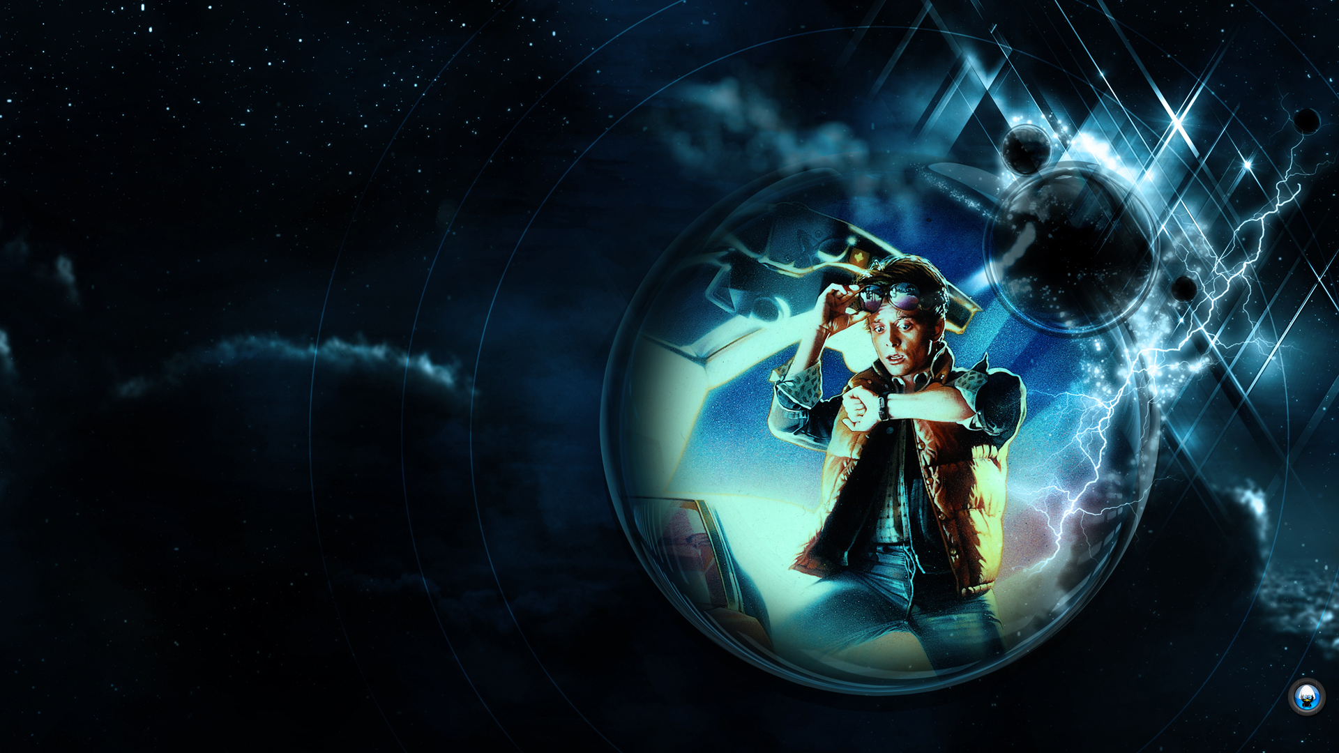Back To The Future Wallpaper 1113607 - Trilogy Back To The Future , HD Wallpaper & Backgrounds
