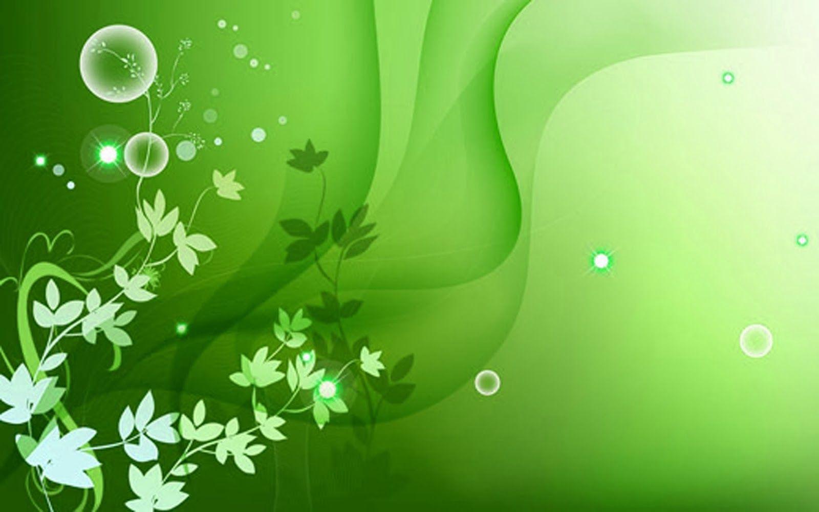 Green Flower Wallpaper - Green Color Wallpaper Hd , HD Wallpaper & Backgrounds