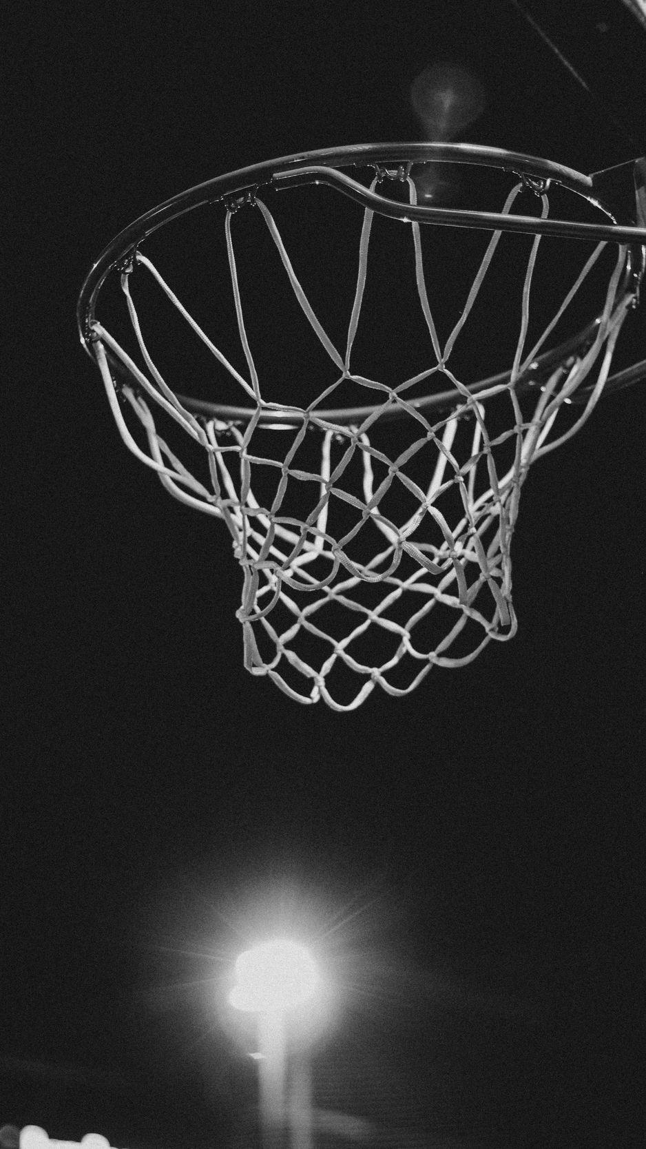 Wallpaper Basketball Ring, Bw, Net, Basketball - Basketball Ring Wallpaper Hd , HD Wallpaper & Backgrounds