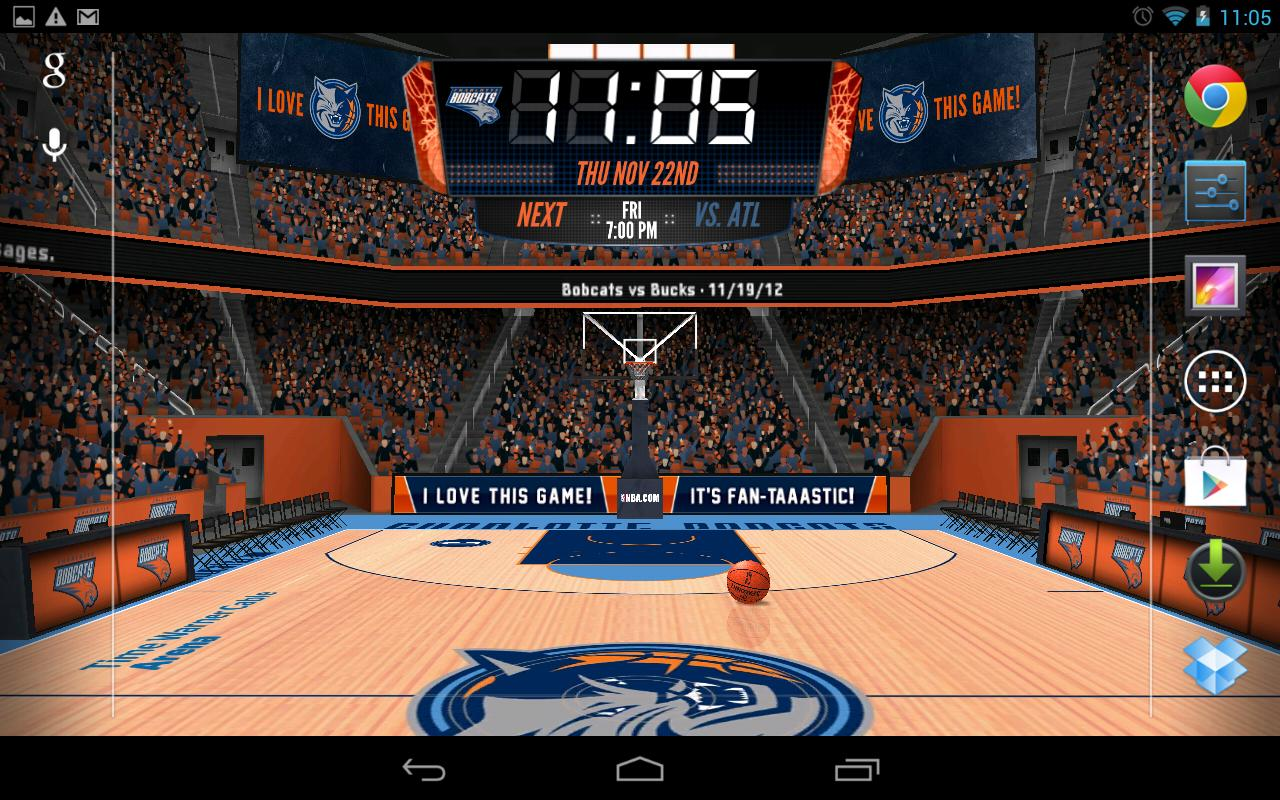 To Nba 2012 3d Live Wallpaper To Download The Latest - Basketball Court , HD Wallpaper & Backgrounds