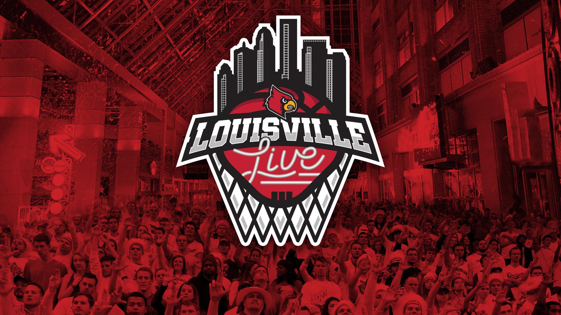 A Red - Louisville Live Basketball , HD Wallpaper & Backgrounds