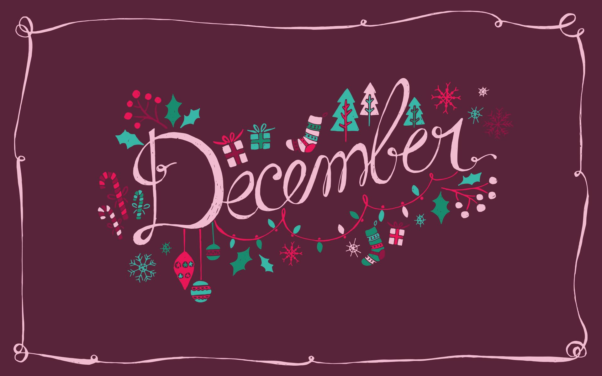 December 2019 Desktop Calendar , HD Wallpaper & Backgrounds