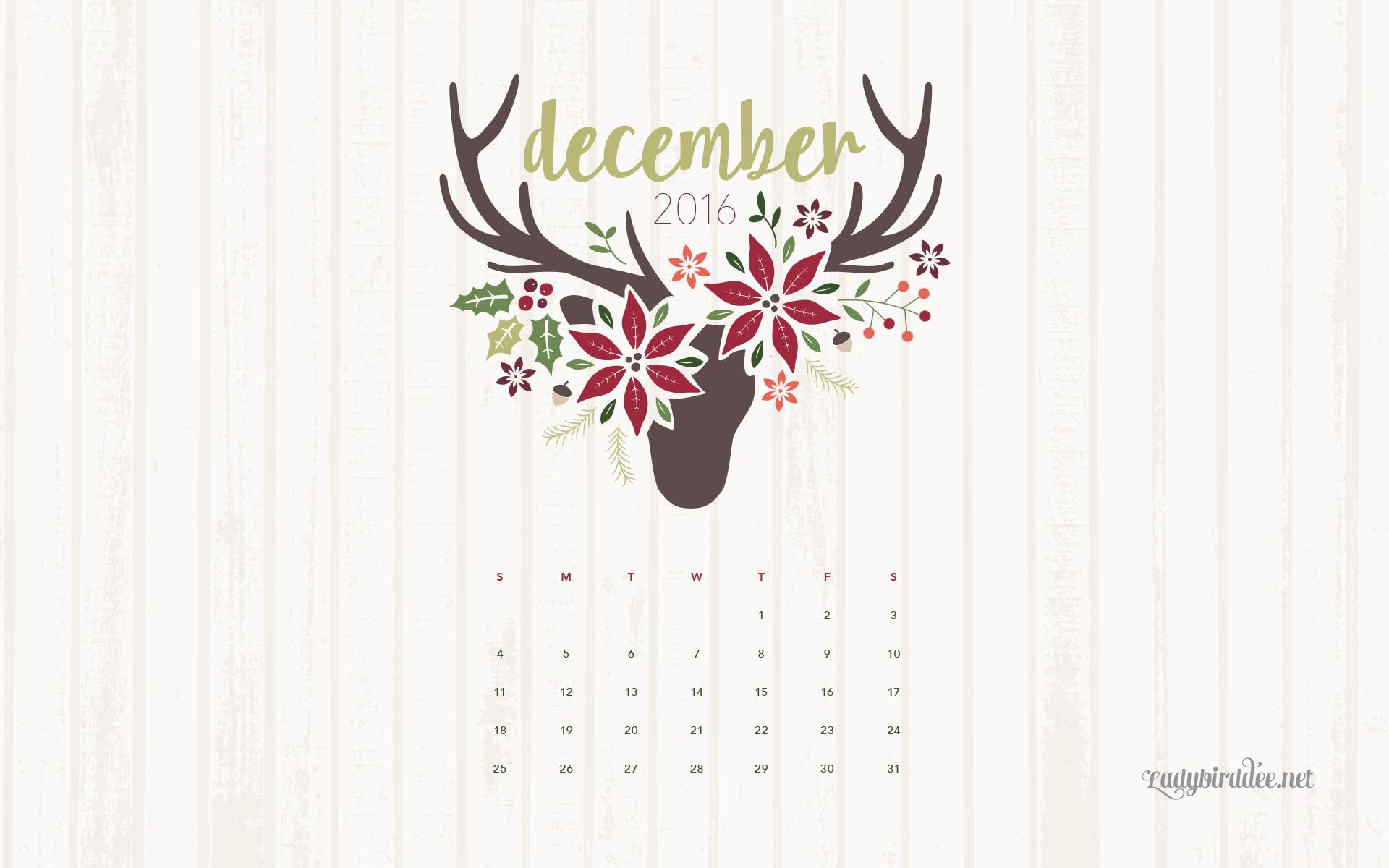 December Desktop Calendar 2018 , HD Wallpaper & Backgrounds