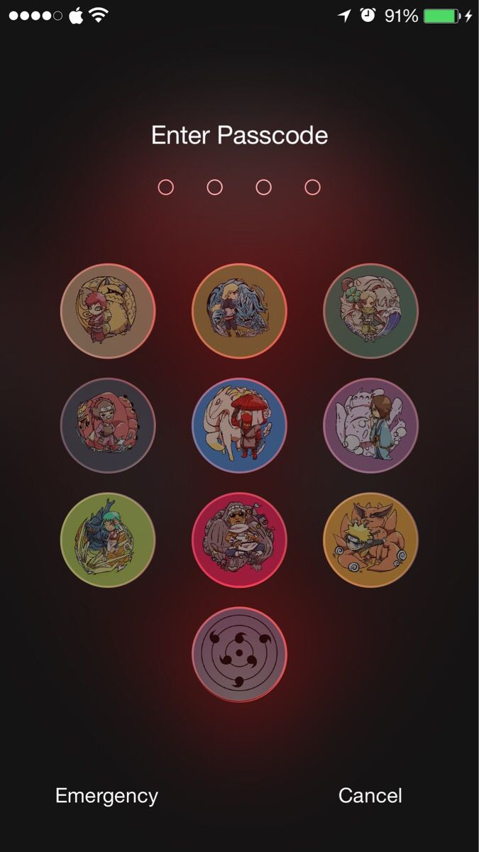 Naruto Lockscreen , HD Wallpaper & Backgrounds