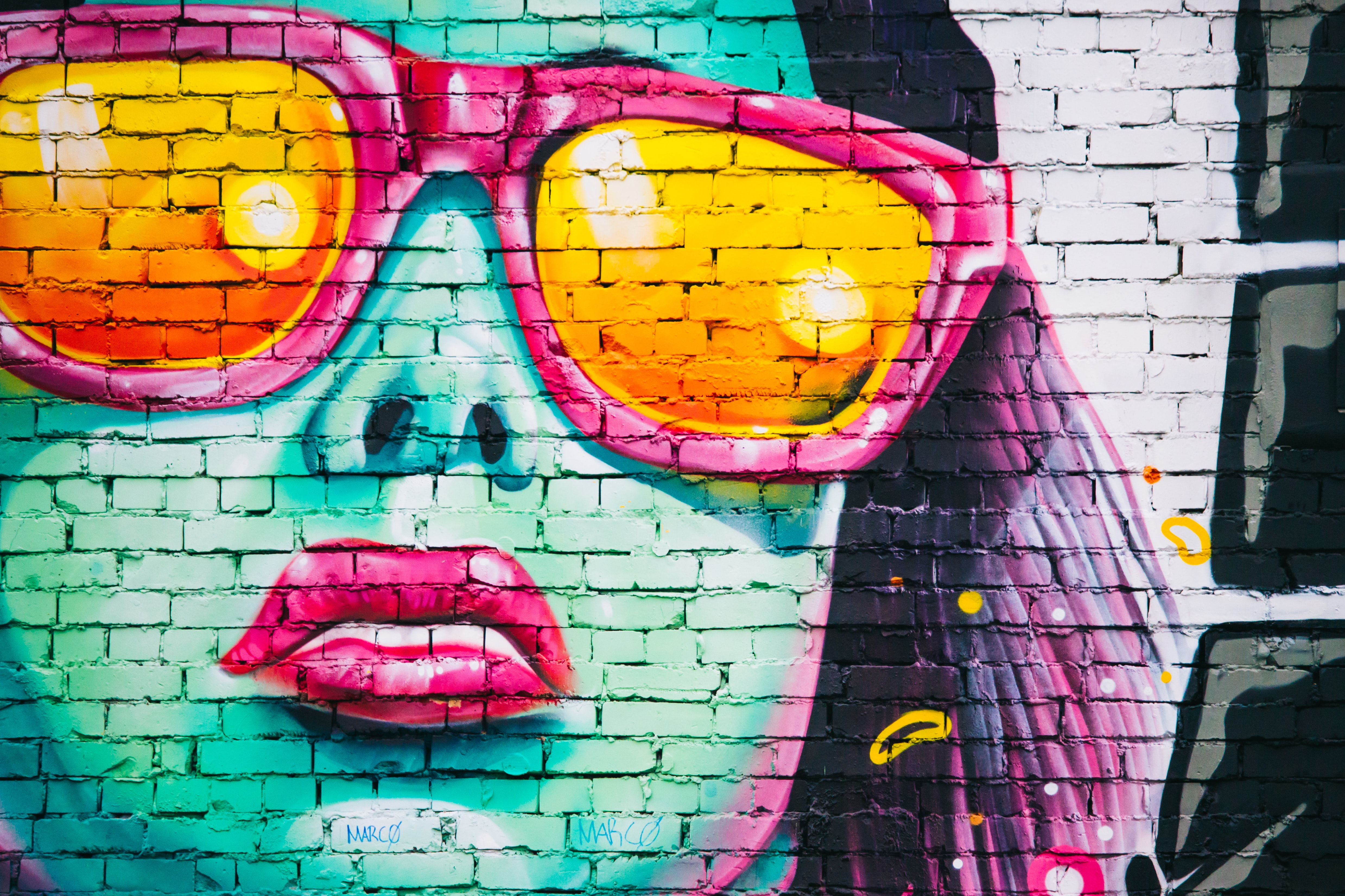 Graffiti Wall 4k , HD Wallpaper & Backgrounds