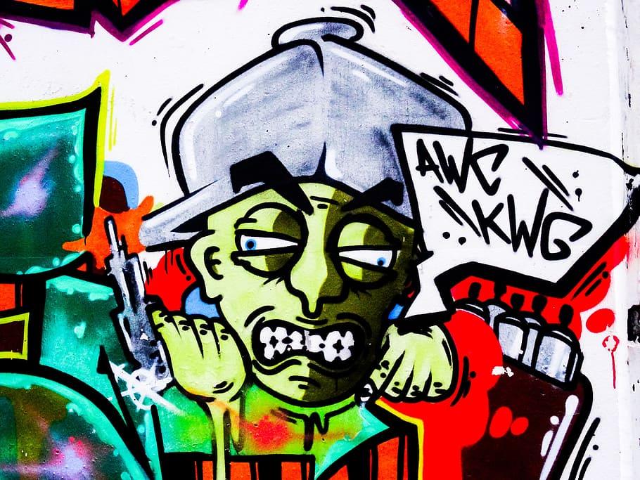 Graffiti, Letters, Font, Text, Decoration, Painted, - Graffiti Letters , HD Wallpaper & Backgrounds
