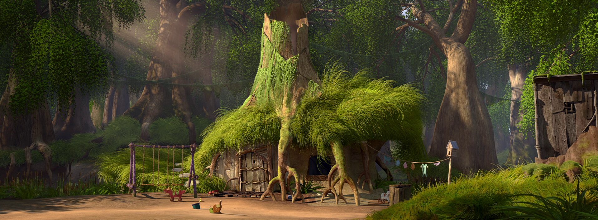 Shrek 1 Swamp 3086168 Hd Wallpaper Backgrounds Download