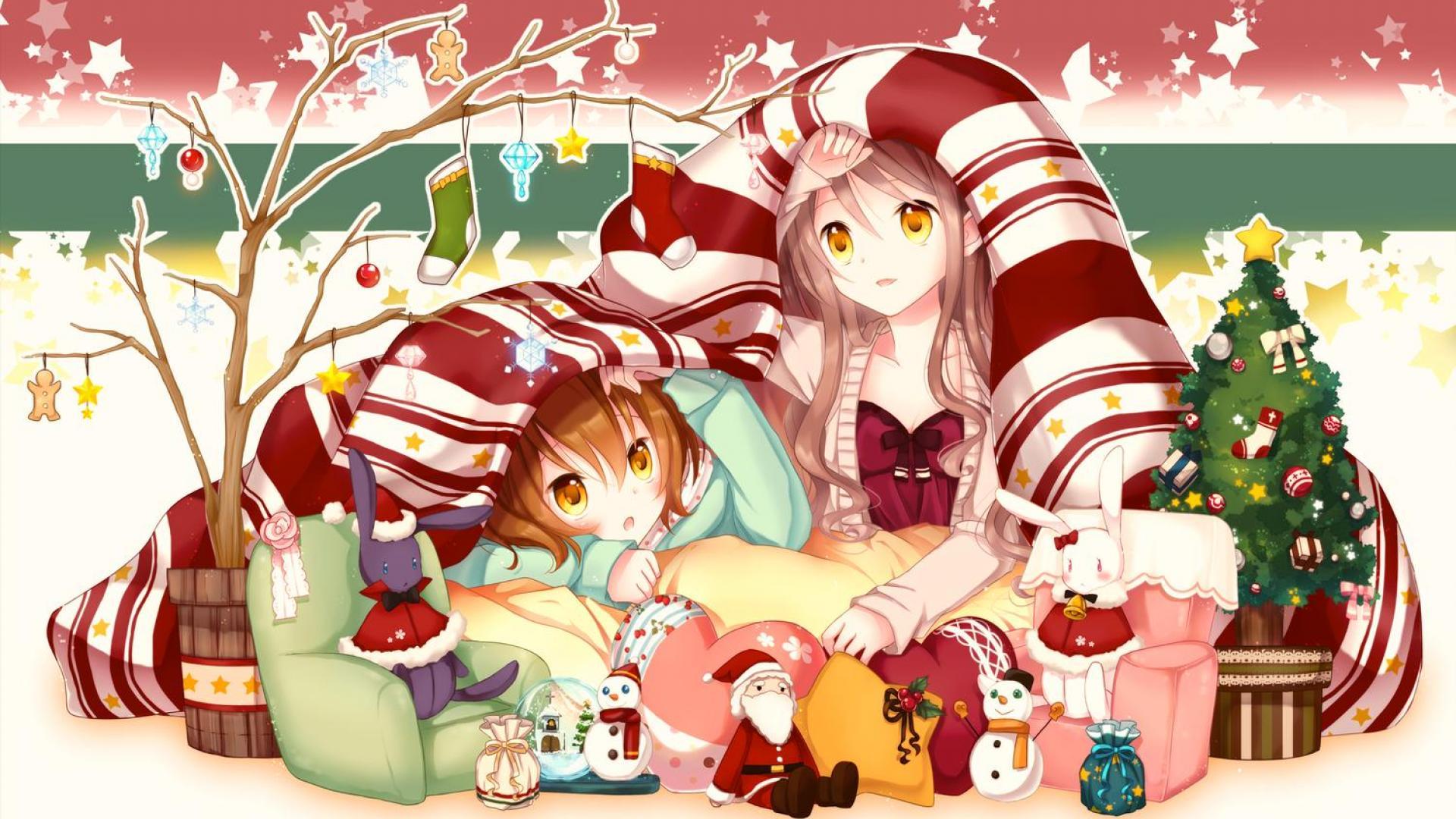 309 3092072 cute anime girl christmas wallpapers hd christmas wallpaper