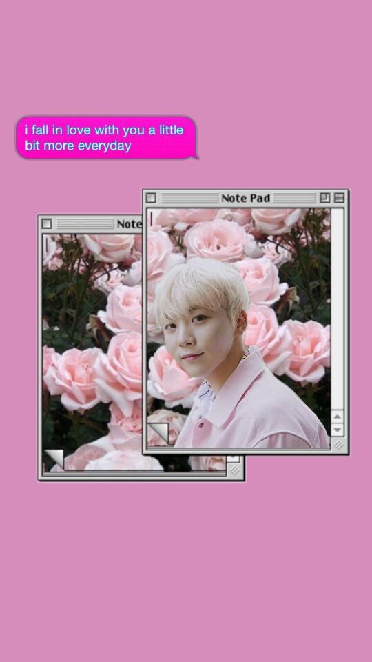 #seungkwan #seventeen #wallpaper - Vintage Lockscreen Aesthetic Tumblr Wallpaper Iphone , HD Wallpaper & Backgrounds