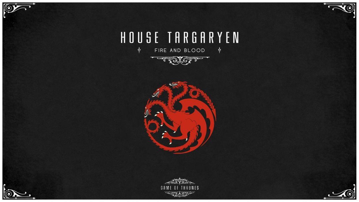 Game Of Thrones House Targaryen Wallpaper - Game Of Thrones Targaryen Wallpaper Hd , HD Wallpaper & Backgrounds
