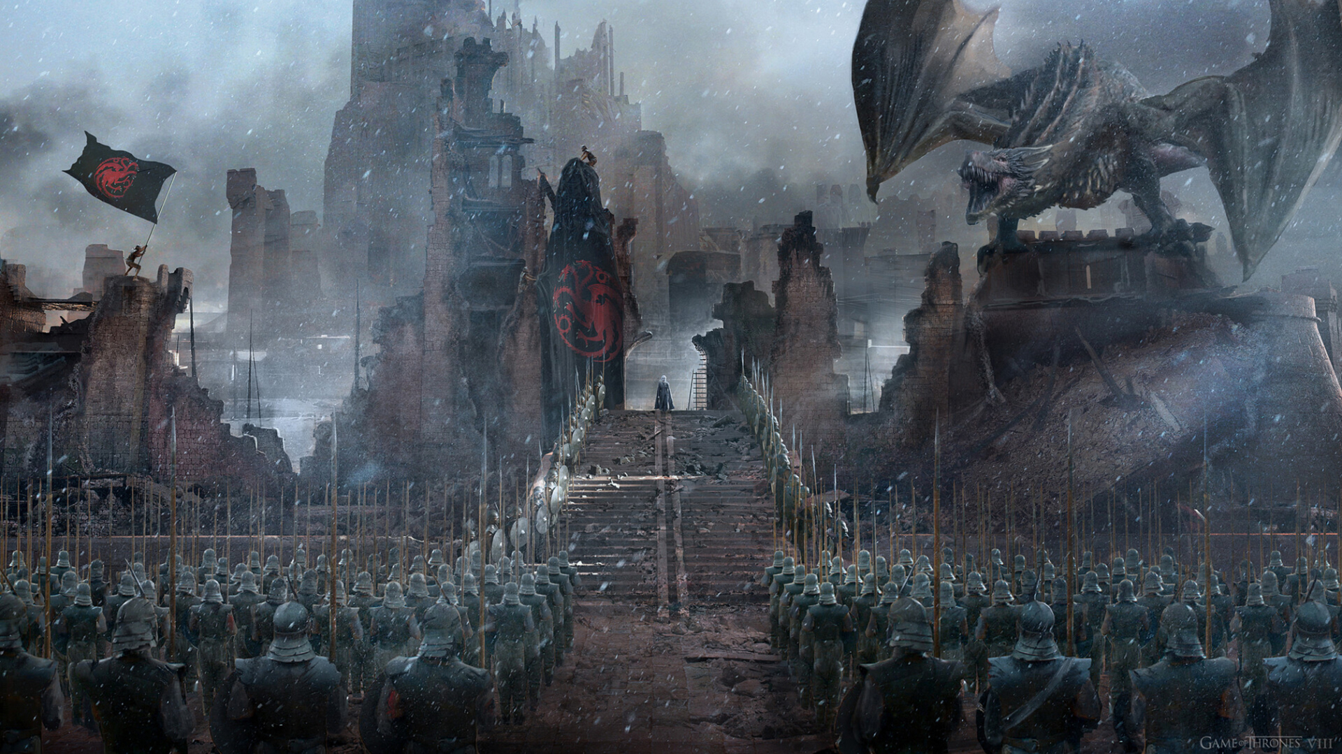 Game Of Thrones Concept Art , HD Wallpaper & Backgrounds