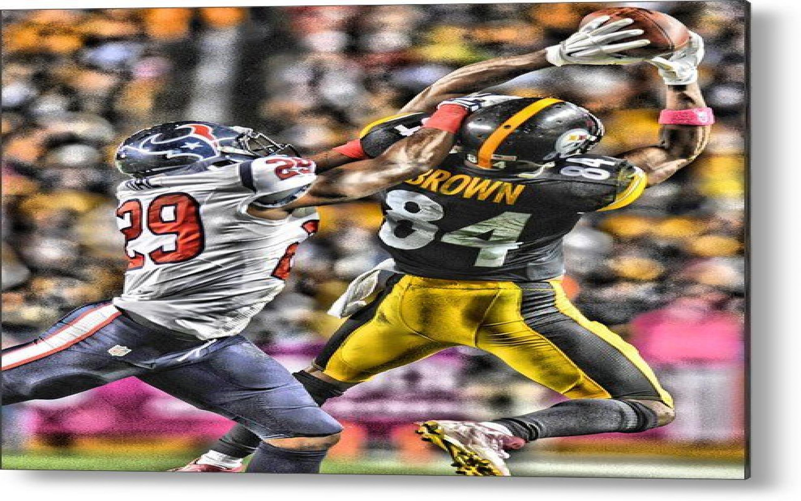 Antonio Brown Wallpaper - Kick American Football , HD Wallpaper & Backgrounds