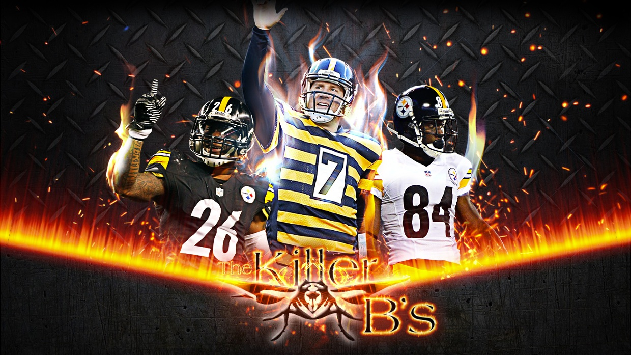Antonio Brown And Ben Roethlisberger Edit , HD Wallpaper & Backgrounds