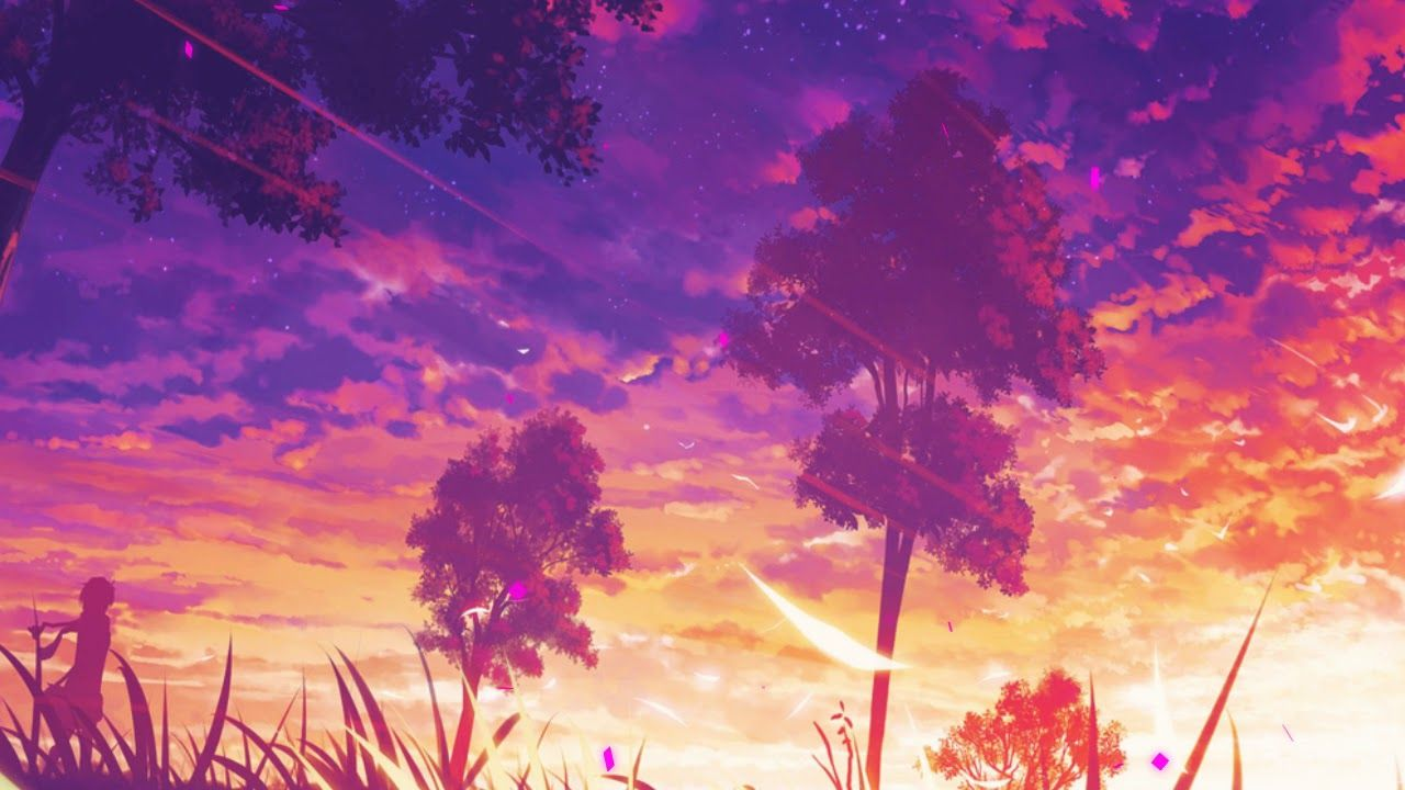Anime Background Gif , HD Wallpaper & Backgrounds