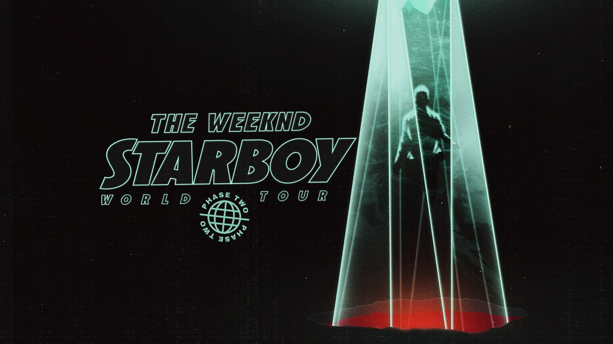 The Weeknd Starboy Legend Of The Fall 2017 World Tour Poster