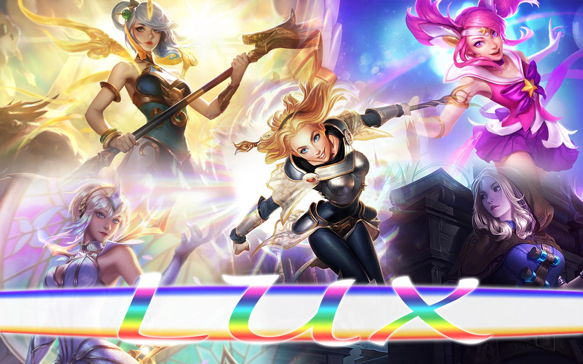 Lux Wallpaper Lux League Of Legends Art 313915 Hd Wallpaper