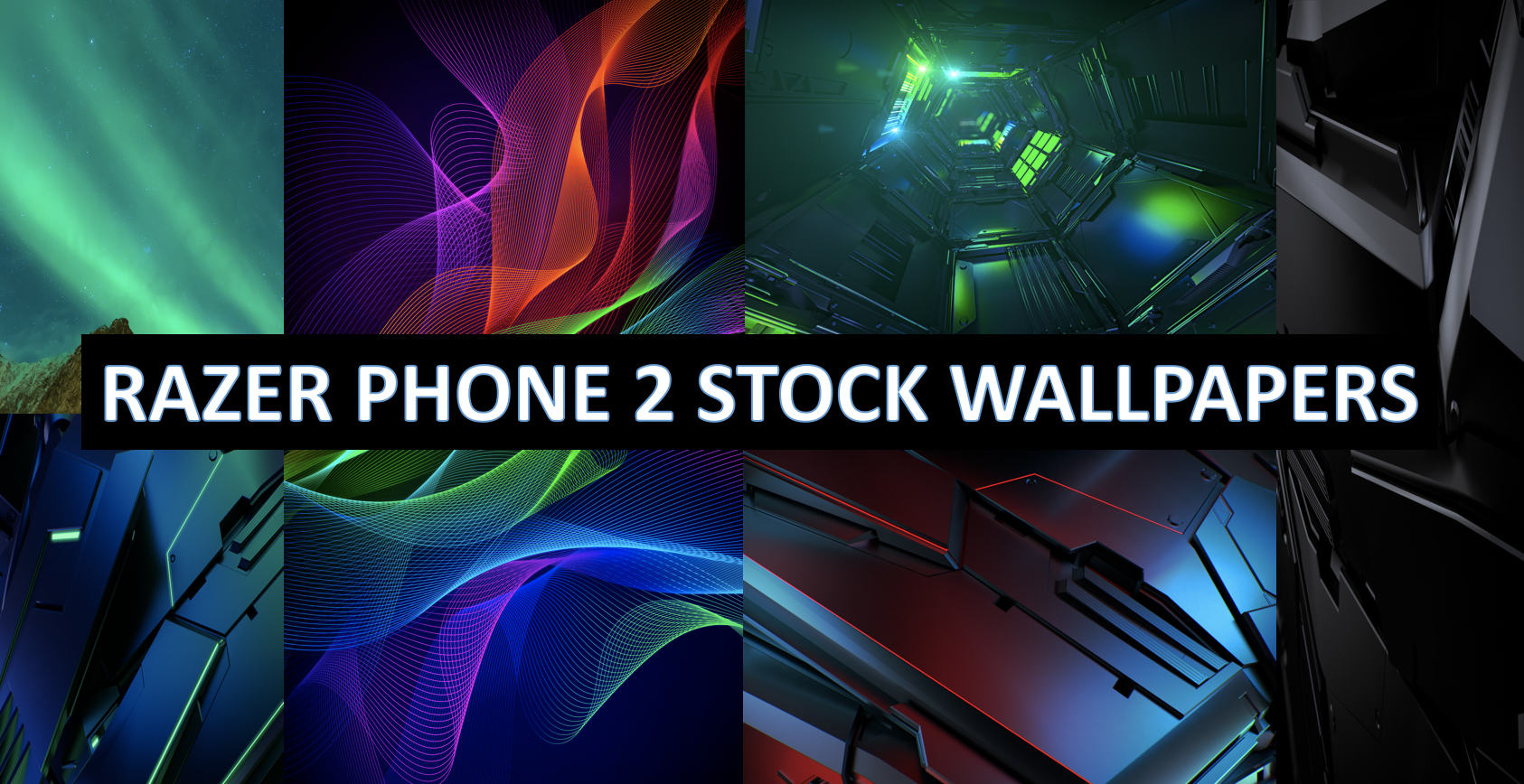 Download Razer Phone 2 Stock Wallpapers Quadhd Resolution , HD Wallpaper & Backgrounds