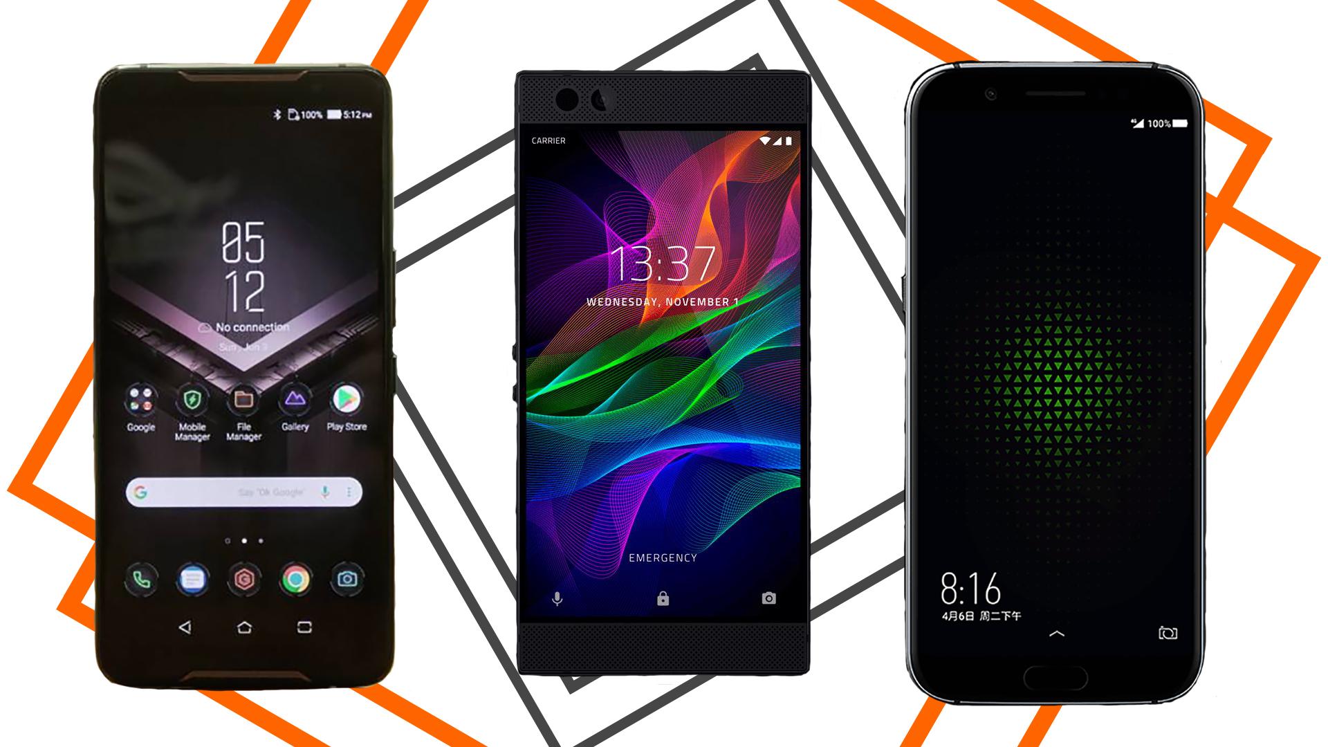 Gaming Phone Showdown - Asus Rog Phone Vs Razer Phone 2 , HD Wallpaper & Backgrounds
