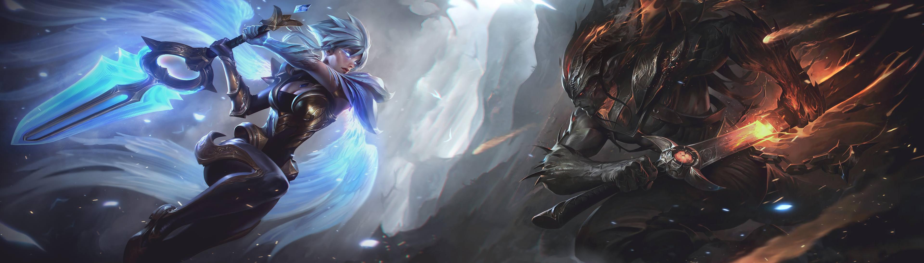 League Of Legends Championship Riven Wallpaper Hd Is