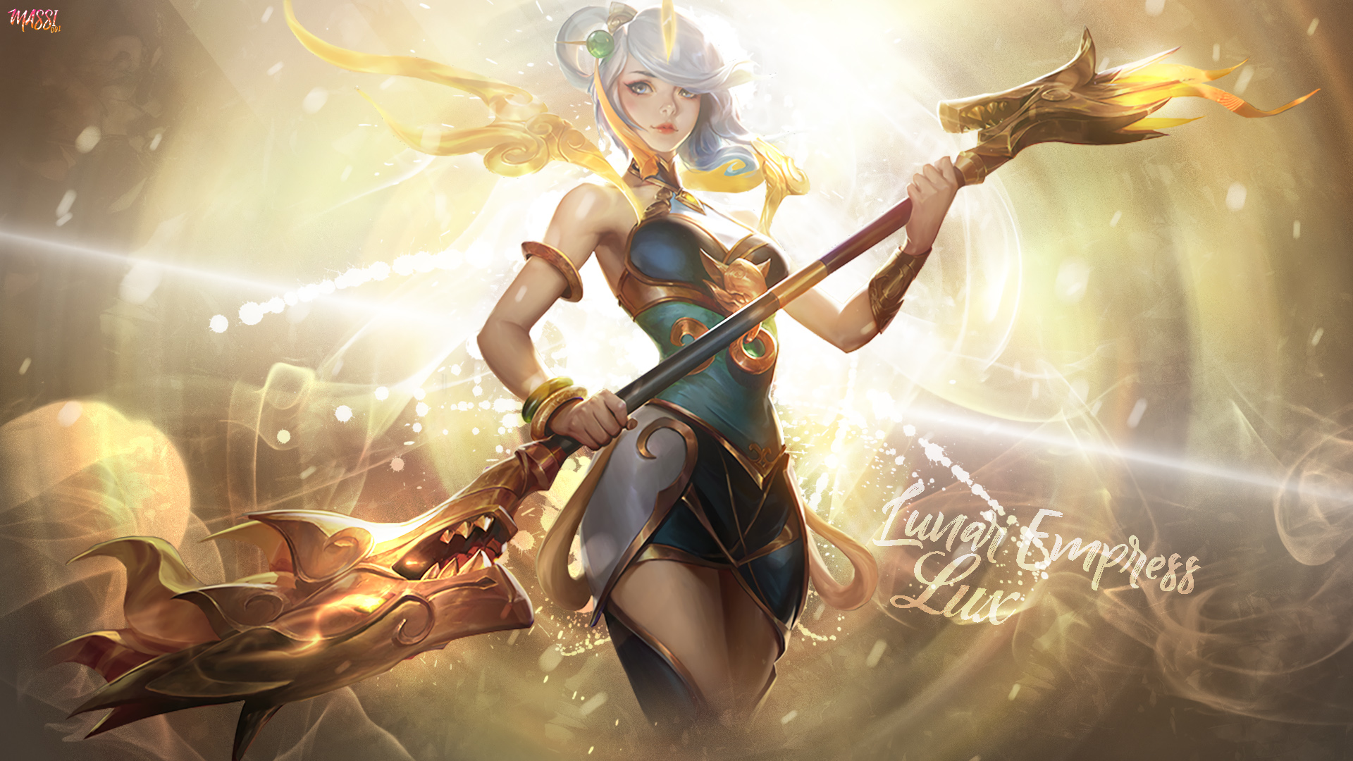 Lux Wallpapers Lunar Empress Lux 314687 Hd Wallpaper