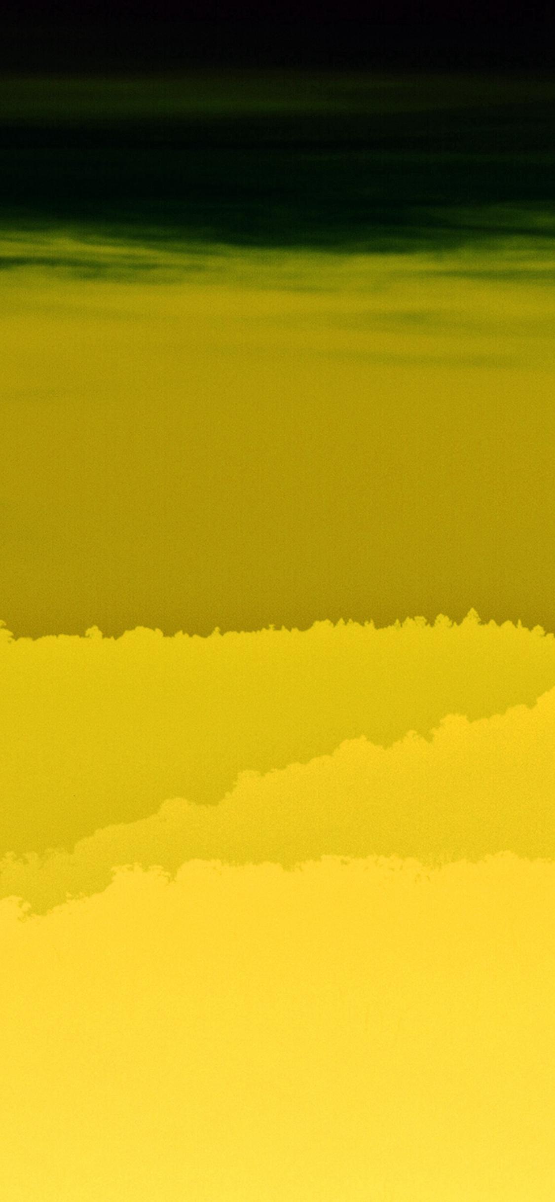 Yellow Mountain Morning Sunrise Nature Iphone X Wallpaper - Iphone X Wallpaper Yellow , HD Wallpaper & Backgrounds