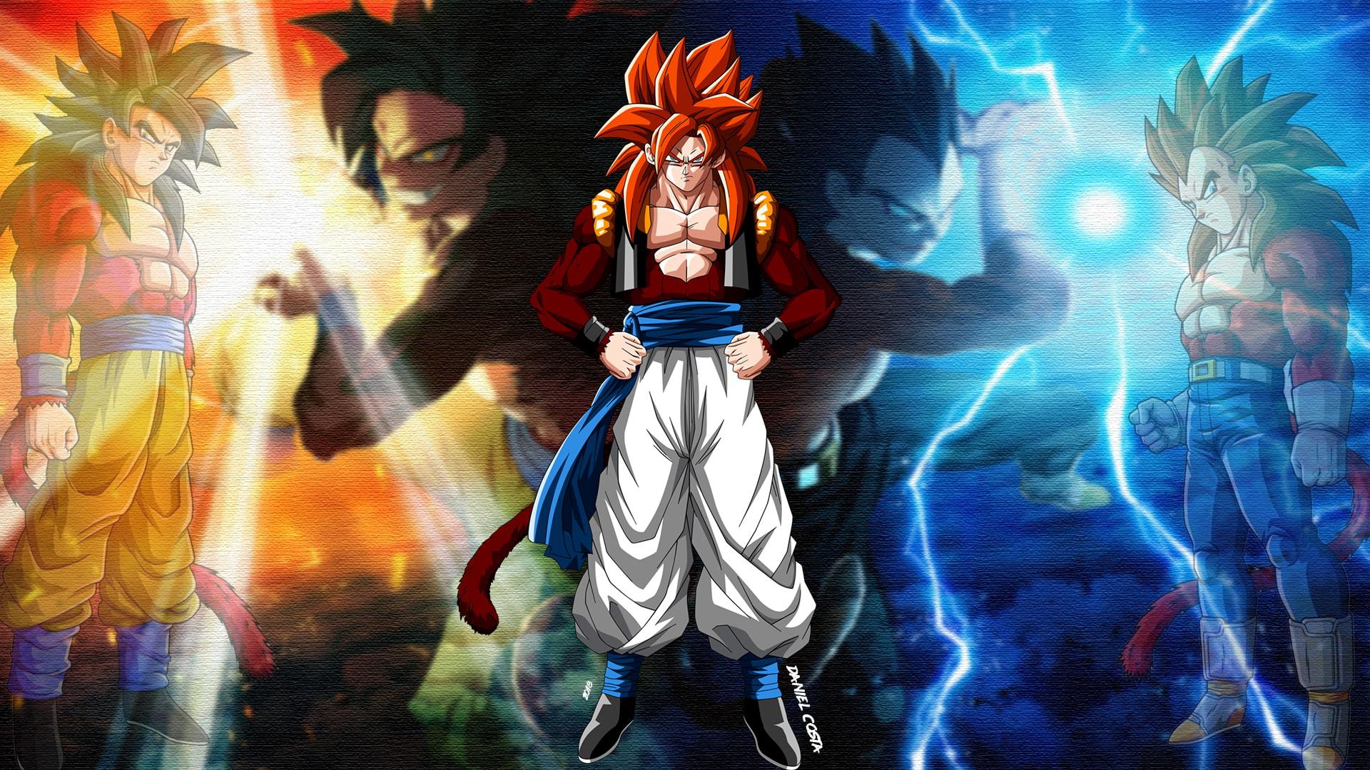 Dragon Ball Dragon Ball Gt Gogeta Son Goku Vegeta Epic Dragon Ball Background 315846 Hd Wallpaper Backgrounds Download