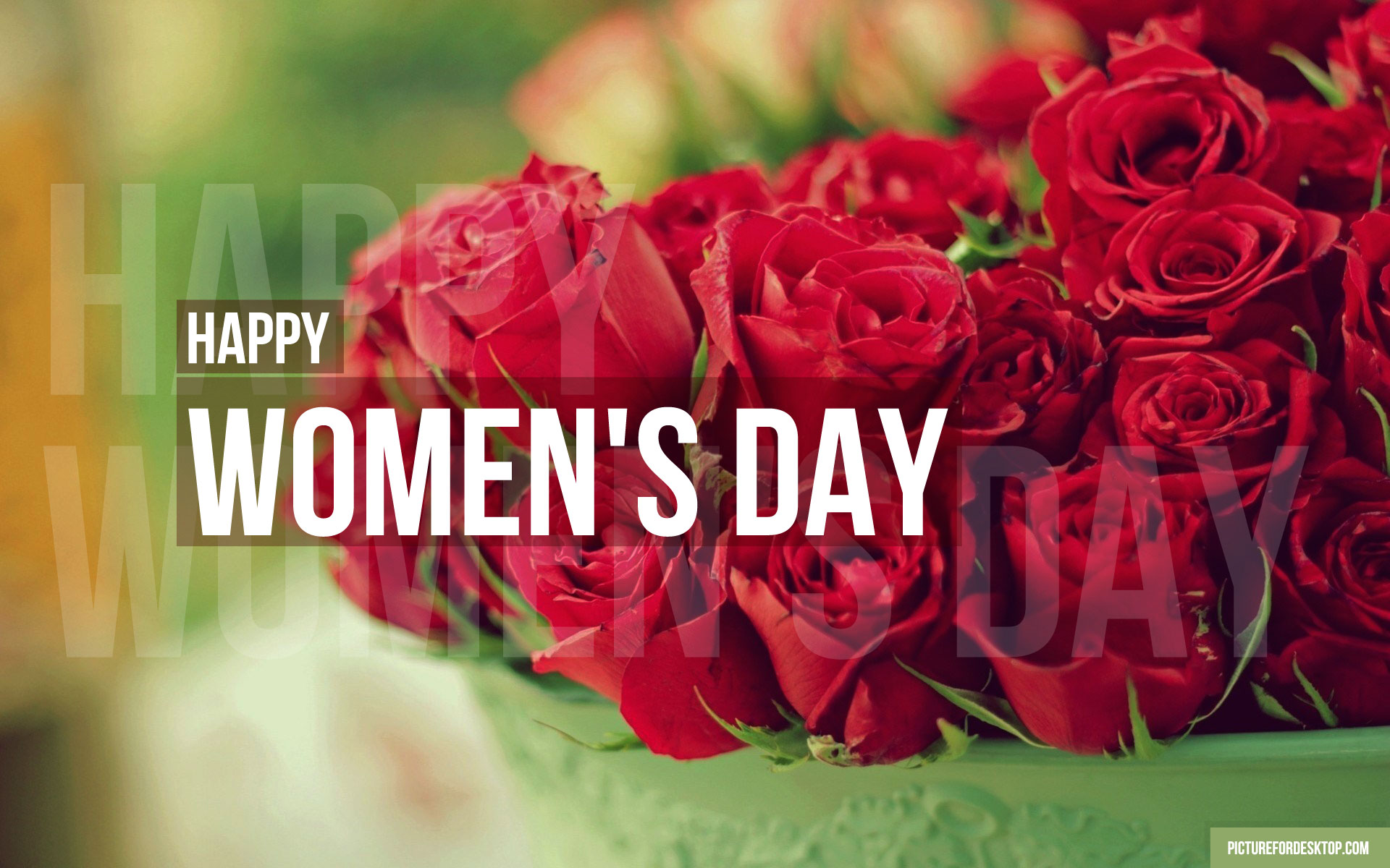 Images For Desktop Wallpapers For Women's Day - Happy Woman Day Gif , HD Wallpaper & Backgrounds