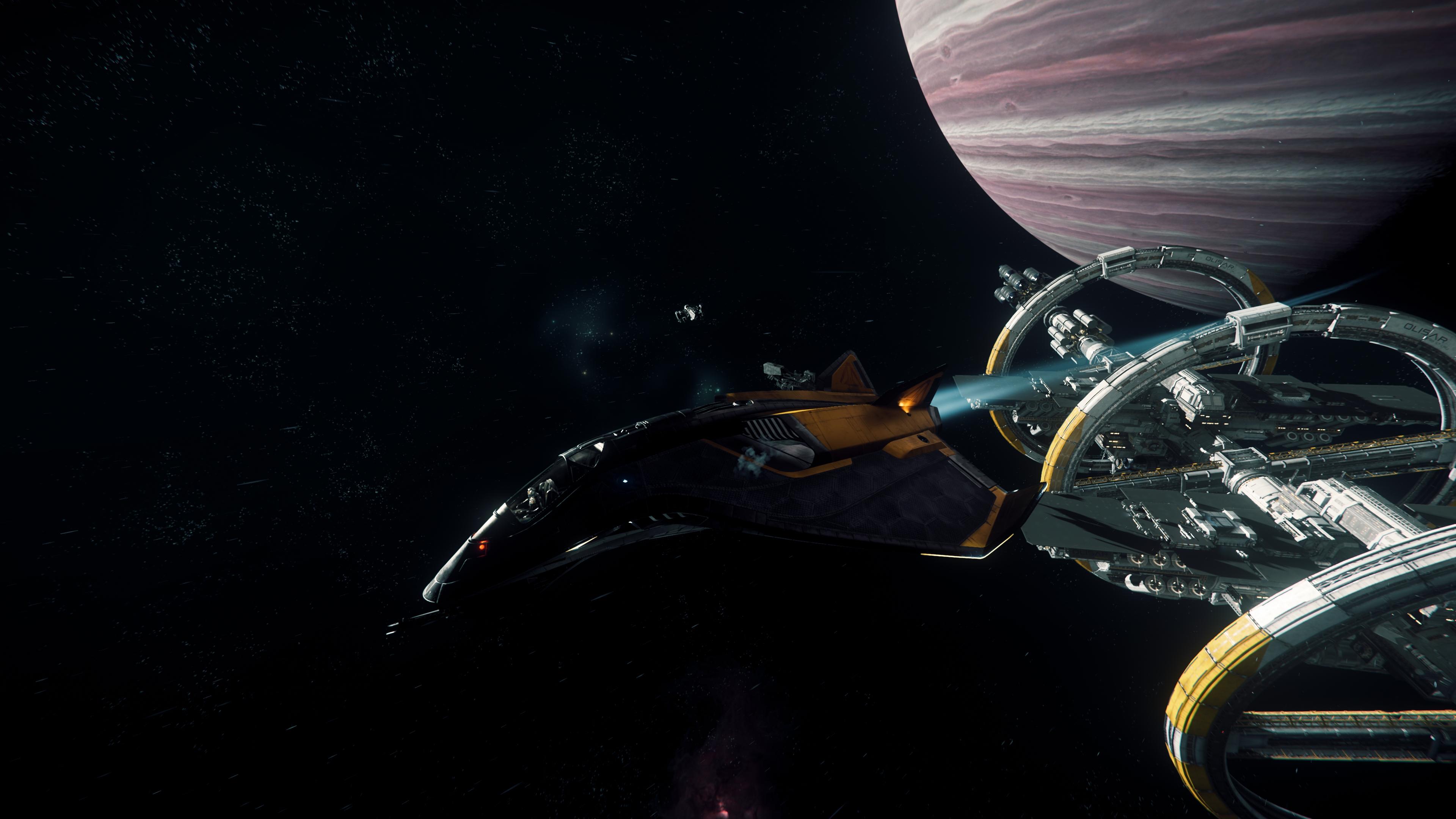 Port Olisar , Star Citizen, Space, Avenger (star Citizen) - Star Citizen Olisar , HD Wallpaper & Backgrounds