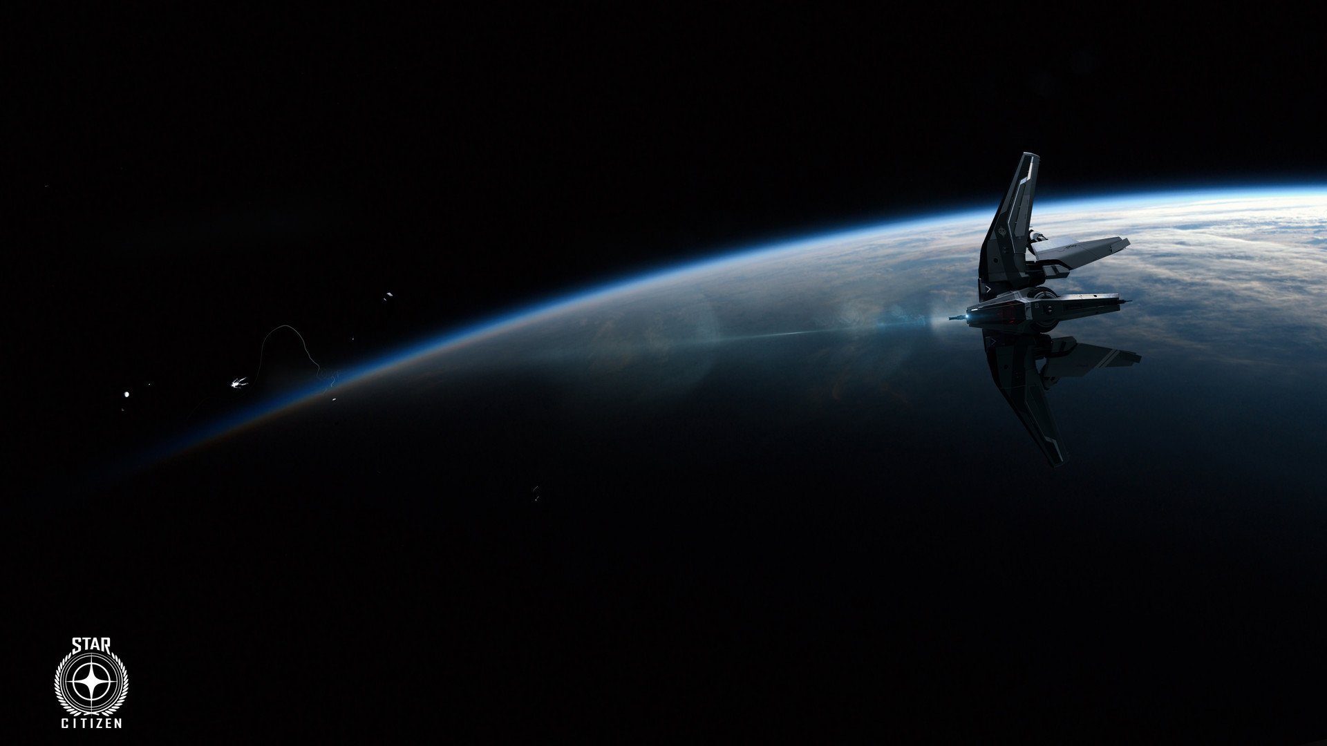 The Anvil Hawk - Outer Space , HD Wallpaper & Backgrounds