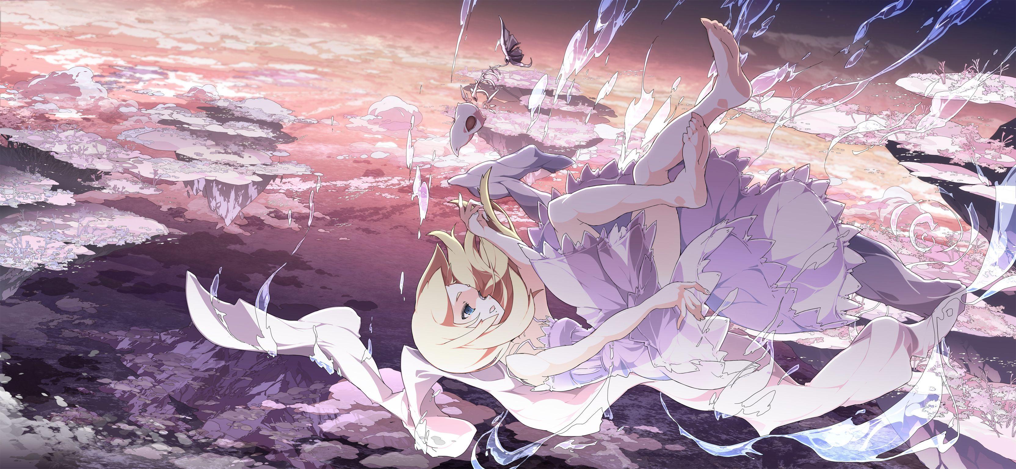 Anime Wallpaper 10 Sky Anime Anime Wallpaper Cool - Anime Girl