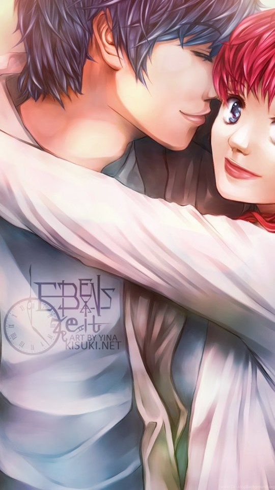 Anime Boy And Girl, Lover Wallpaper,anime Hd Wallpaper,boy - Girl Boy Wallpaper Hd , HD Wallpaper & Backgrounds