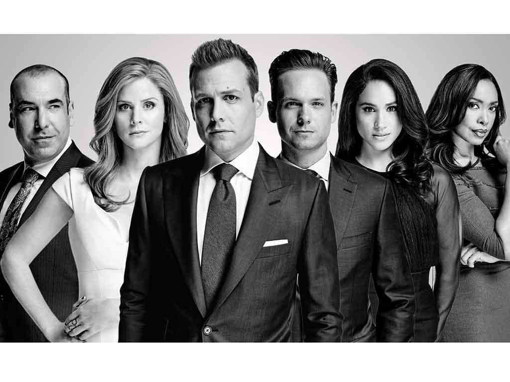 Suits Wallpaper Suits Tv - Suit Tv Series Cast , HD Wallpaper & Backgrounds