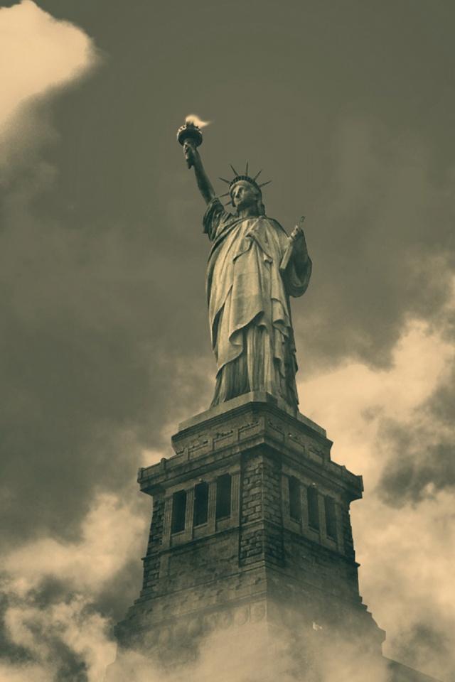 Liberty Island , HD Wallpaper & Backgrounds