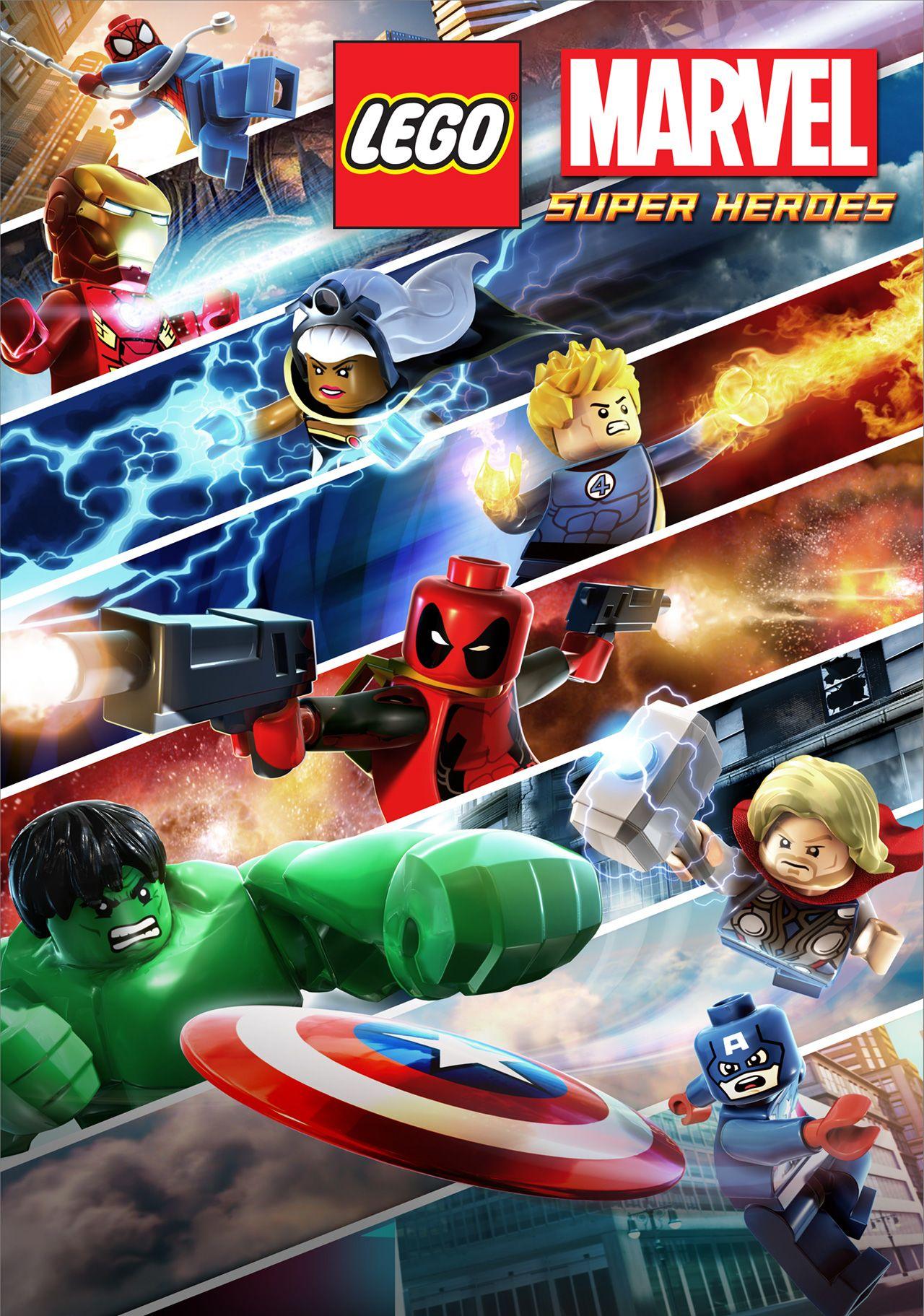 Lego Marvel Super Heroes Avengers Reassembled 2015 , HD Wallpaper & Backgrounds